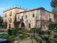 Fachada principal del Palacio de Gándara