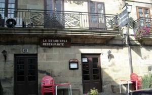 Fachada Restaurante La Estantería