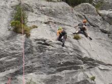 Descenso barrancos en Valles Pasiegos