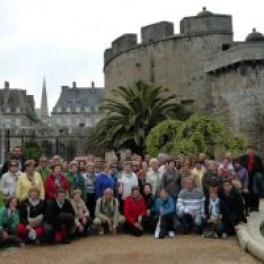 Vecinos del ayuntamiento de Penagos viajan a la Bretaña Francesa