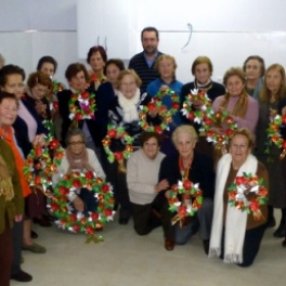 Fiesta de Navidad grupo de mayores de Penagos